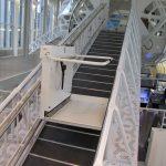 מעלון משטח מדרגות ישרות HIRO350A