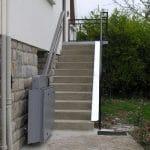 מעלון משטח המתאים גם למדרגות חיצוניות וגם לביתיות