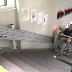 מעלון משטח, מעלונים למדרגות לכל סוגי המדרגות